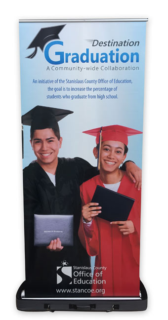 Destination Graduation - Pop Up Poster