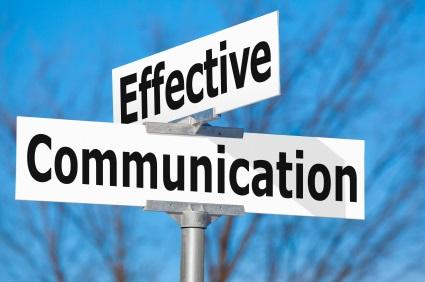 Effective Communication sign