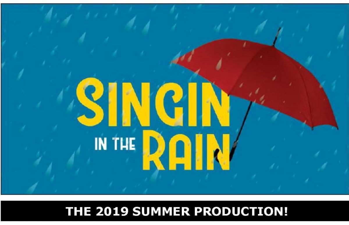 Singin in the Rain -Umbrella & rain