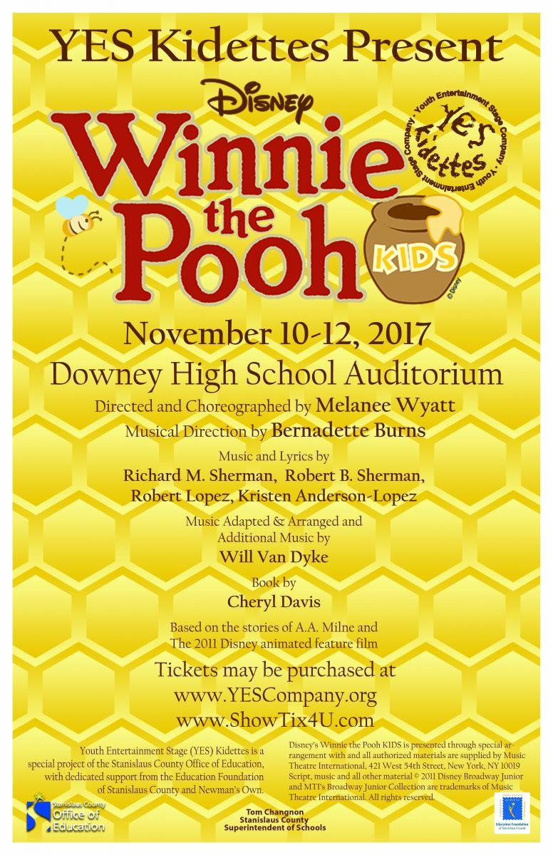 YES Kidettes Winnie the Pooh Kids Poster
