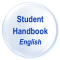 Student Handbook English Button