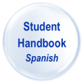 Student Handbook Spanish Button