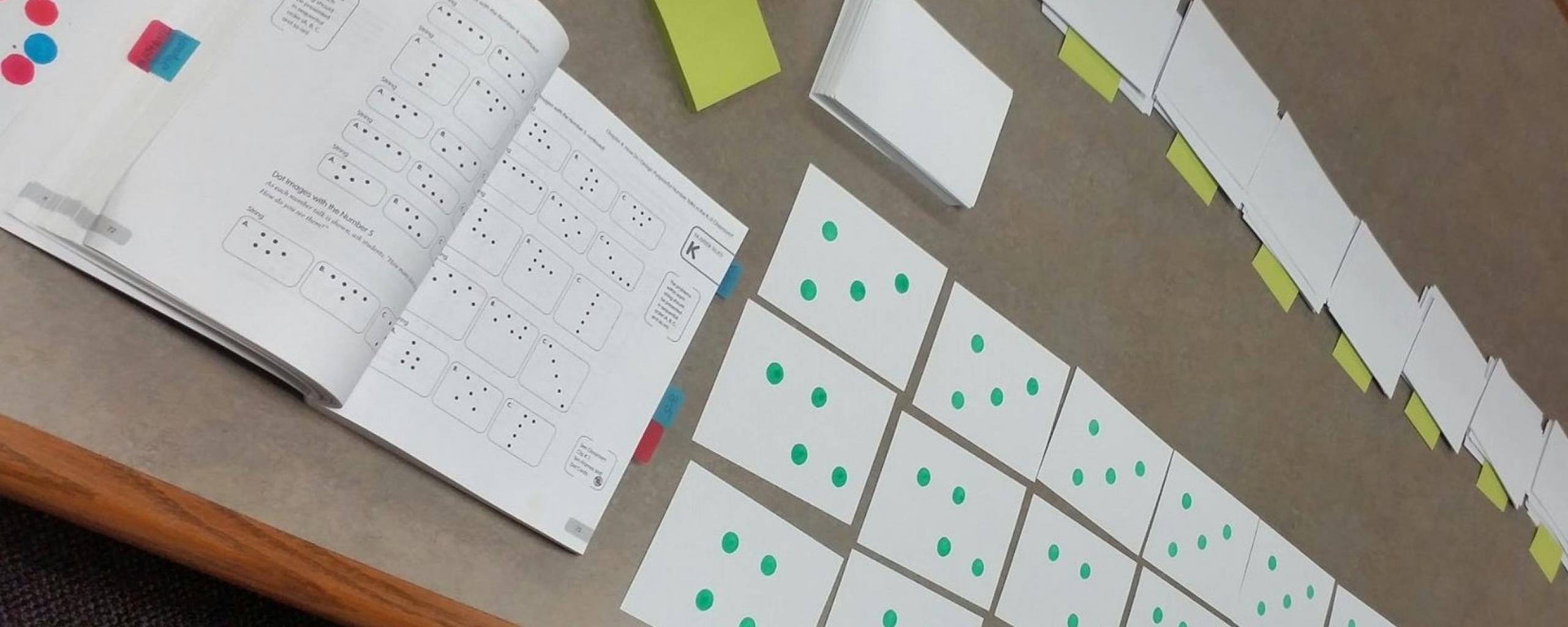 Number talks dot images