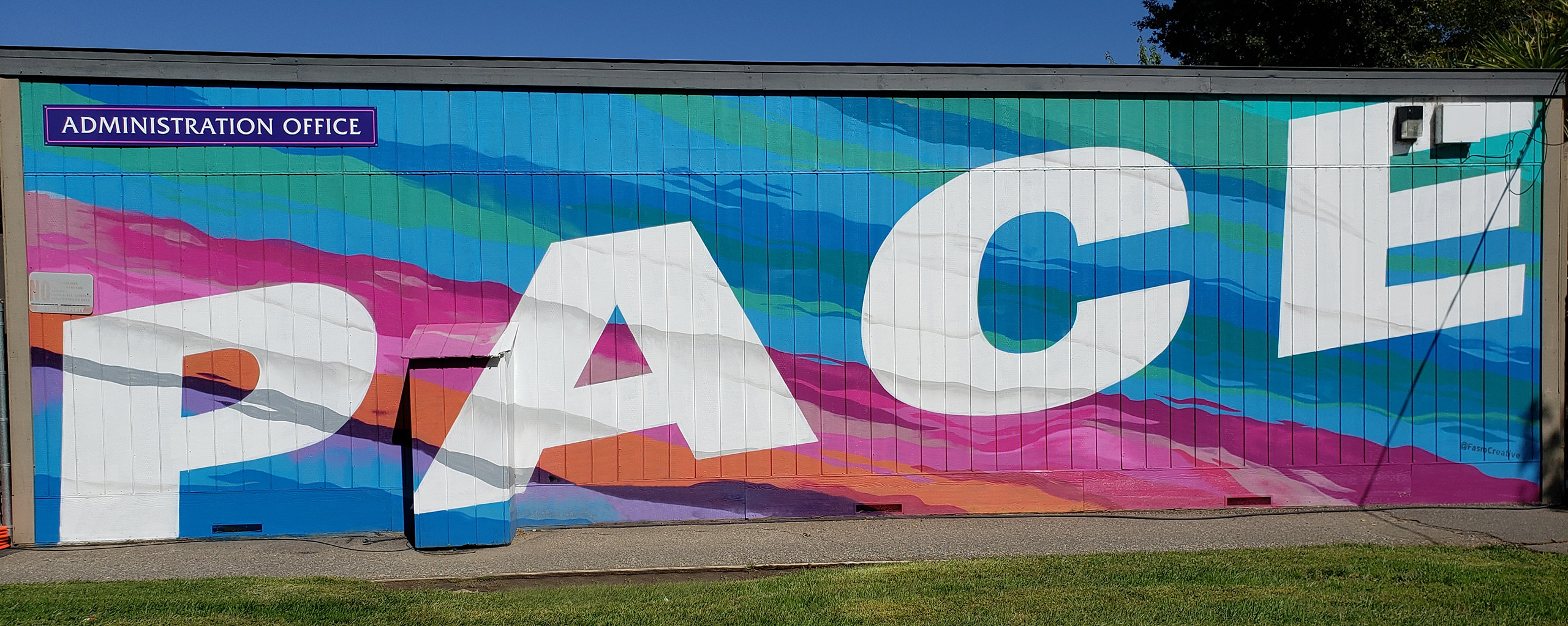 PACE mural
