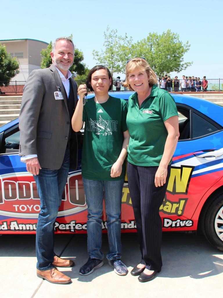 Perfect Attendance Drive contest winner 2019