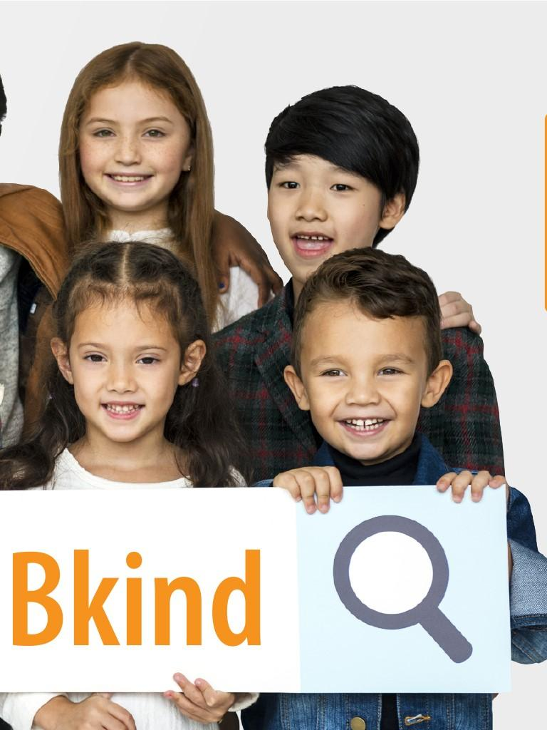 Kindness matters group of diverse students