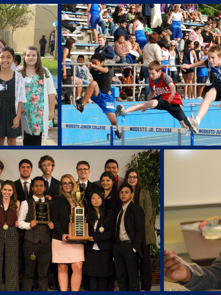 Student Events Collage