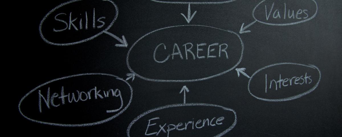 Chalkboard, career paths